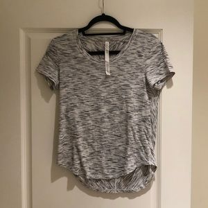 Lulu lemon grey workout tshirt